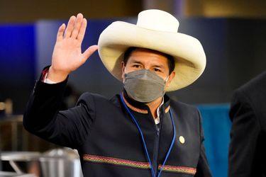 Las grandes mineras ahora muestran agrado por el líder izquierdista de Perú, Pedro Castillo