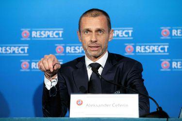 Aleksander Ceferin criticó la creación de la Superliga Europea.
