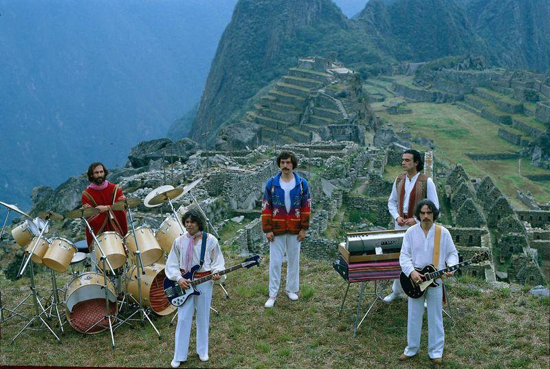 Los Jaivas en Pachu Picchu 1981
