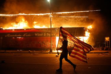 Galería: Nueva jornada de disturbios en EE.UU. por el caso de brutalidad policial contra George Floyd