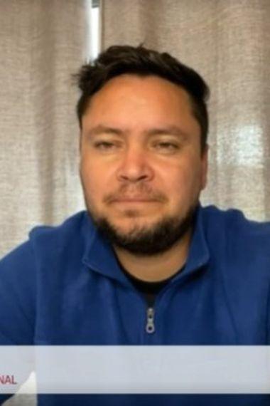 Waldo Ponce, en su participación en El diván del Kily, el programa de conversación de El Deportivo.