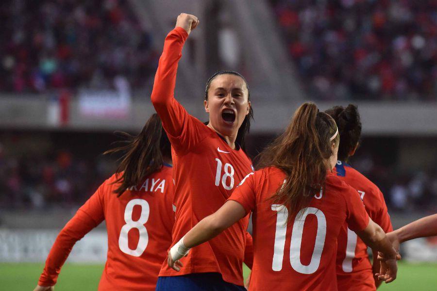 Chile, La Roja, Copa América femenina
