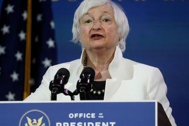 """Janet Yellen: EEUU debe """"actuar a lo grande"""" en próximo paquete de ayuda por coronavirus"""