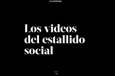 """La Tercera gana el premio de periodismo digital Rey de España por especial del """"estallido social"""""""