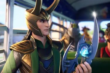 Loki estará disponible en Fortnite a partir de julio