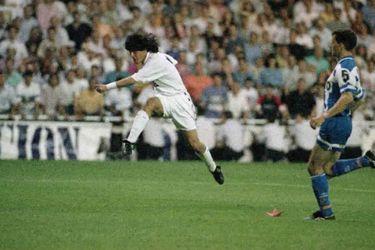 Las Bodas de Plata de Zamorano: el día que tocó el cielo en el Real Madrid