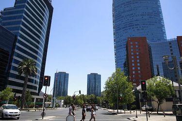 Santiago sin congestión en vacaciones