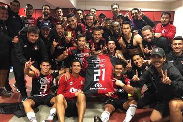 Atlas dedica triunfo a Lorenzo Reyes.