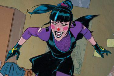 Punchline es el foco de los nuevos vistazos al cómic aniversario del Joker
