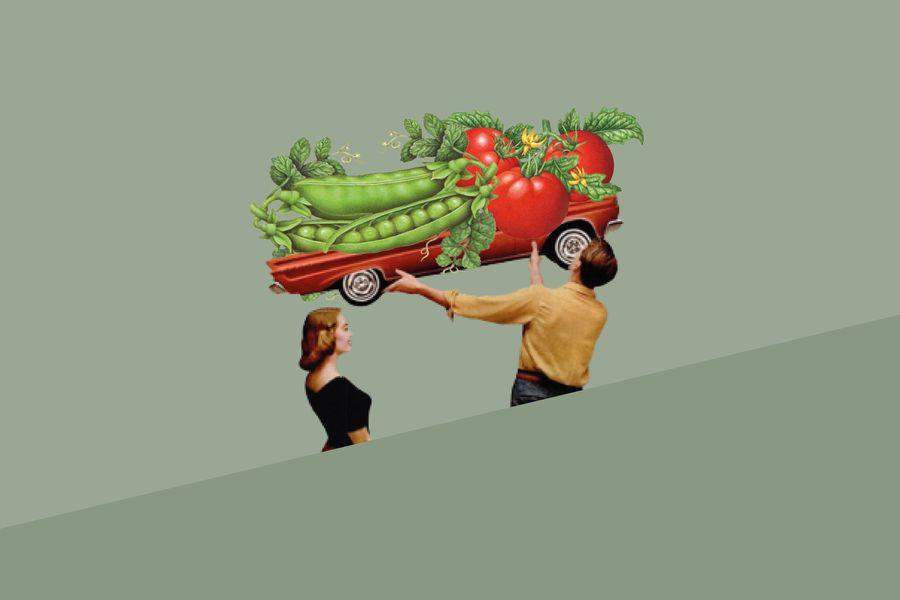 vegetales a casa