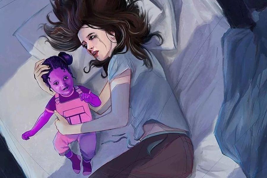 jessica jones hija purpura