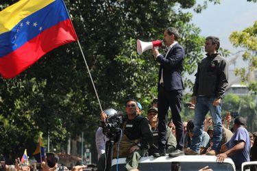 Oposición en Caracas a (1037906)