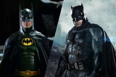 """Ben Affleck y Michael Keaton """"se emocionaron mucho"""" al regresar como sus respectivas versiones de Batman en The Flash"""