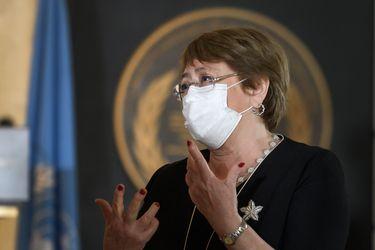 """Bachelet llama a evitar actos de violencia que impidan unas elecciones pacíficas en Bolivia: """"Nadie quiere que se repitan los acontecimientos del año pasado, que dieron lugar a vastas violaciones y abusos de los Derechos Humanos"""""""