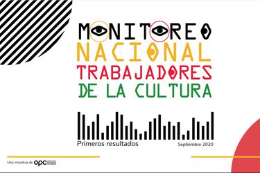 Radiografía de la crisis del sector cultural: el 55% tuvo ingresos mensuales de $300 mil o menos