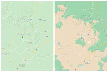 Una nueva actualización incorporará más colores y precisión a Google Maps