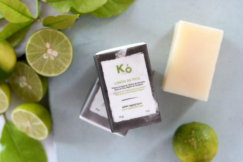 Kó Chile Productos chilenos de limpieza y cuidado del cuerpo hechos con ingredientes 100% naturales.