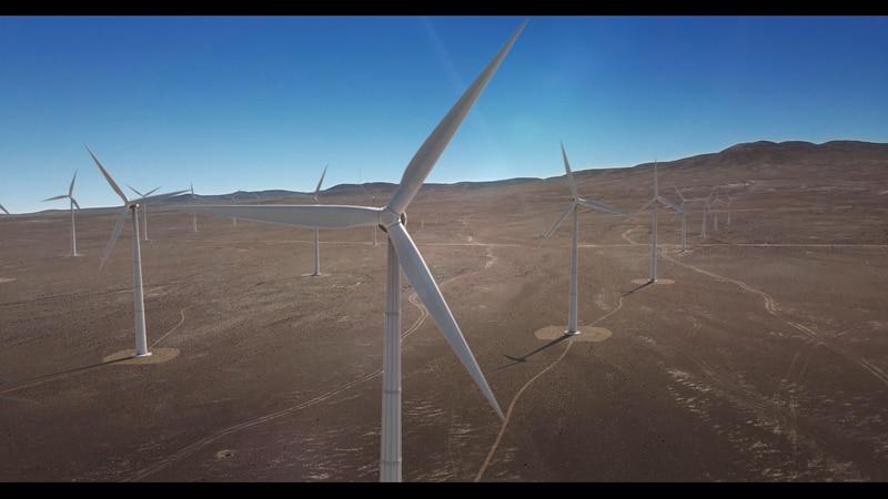 Colbún anuncia mayo proyecto de energía eólica de América Latina
