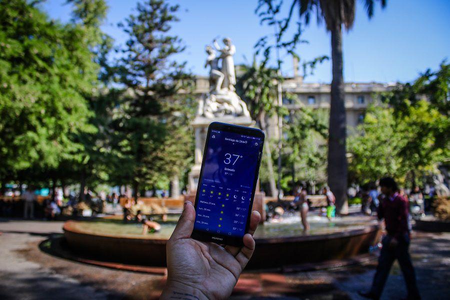 Termómetros alcanzan los 37 grados en la capital