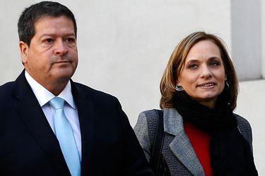 Ernesto Velasco y Carolina Goic