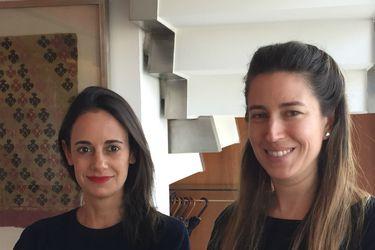 Isabel Margarita Wolleter y Carolina Helfmann