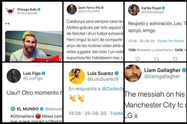 Los Bulls, Liam Gallagher y Puyol: las reacciones al quiebre de Messi con el Barça