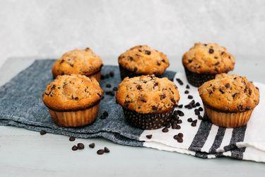 Cómo hacer muffins con streussel y chips de chocolate