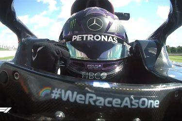 Hamilton se queda con la pole y bate récord en Silverstone