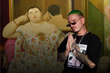 Cuando J Balvin explicó a Botero
