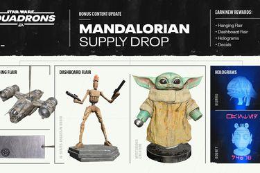 Contenido de The Mandalorian llega a Star Wars: Squadrons