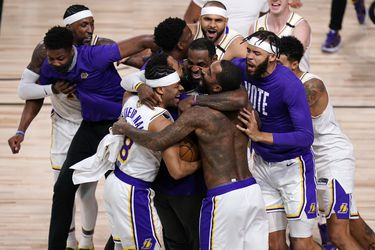 Los Angeles Lakers alcanza su 17ª corona de la NBA