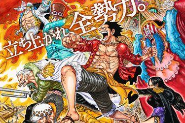 One Piece Stampede consiguió el mejor día de estreno del año en Japón