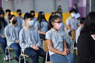 Los futuros astronautas chilenos: escolares de Antofagasta se suman a Programa Escolar Satelital, iniciativa que les permitirá involucrarse en el desarrollo aeroespacial