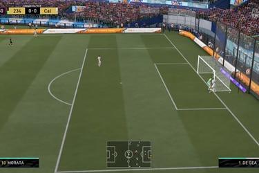 El balón se queda pegado al travesaño en nuevo bug de FIFA 21