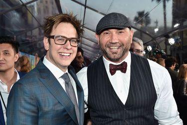 Bautista valoró el regreso de James Gunn a Marvel Studios