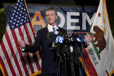 El gobernador de California, Gavin Newsom, gana la elección revocatoria