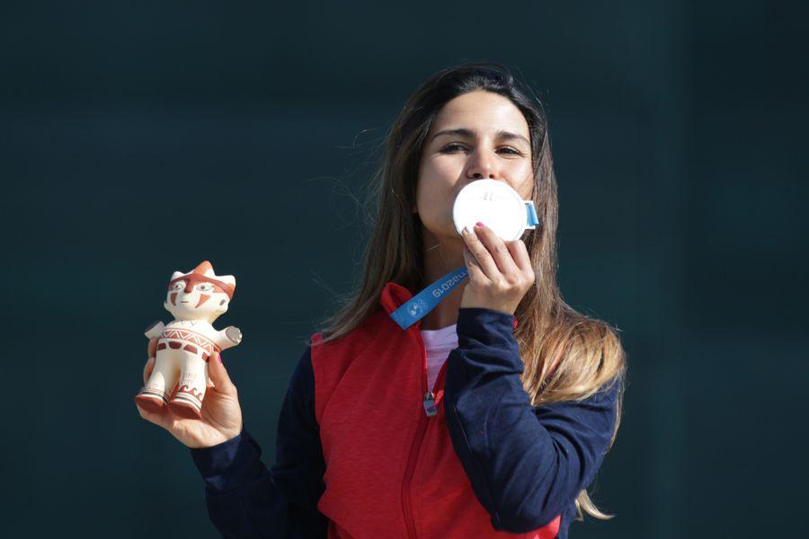 Francisca Crovetto   Plana en Panamericanos