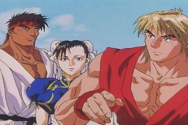 Sale a la luz película de anime educativa de Street Fighter II