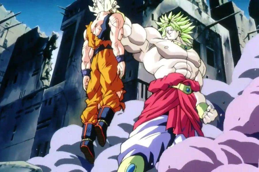 Broly vs Goku