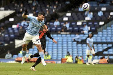 Se despide con goles: Agüero anota un doblete en su último partido de Premier con el City