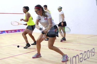 El squash asegura la primera medalla para el Team Chile