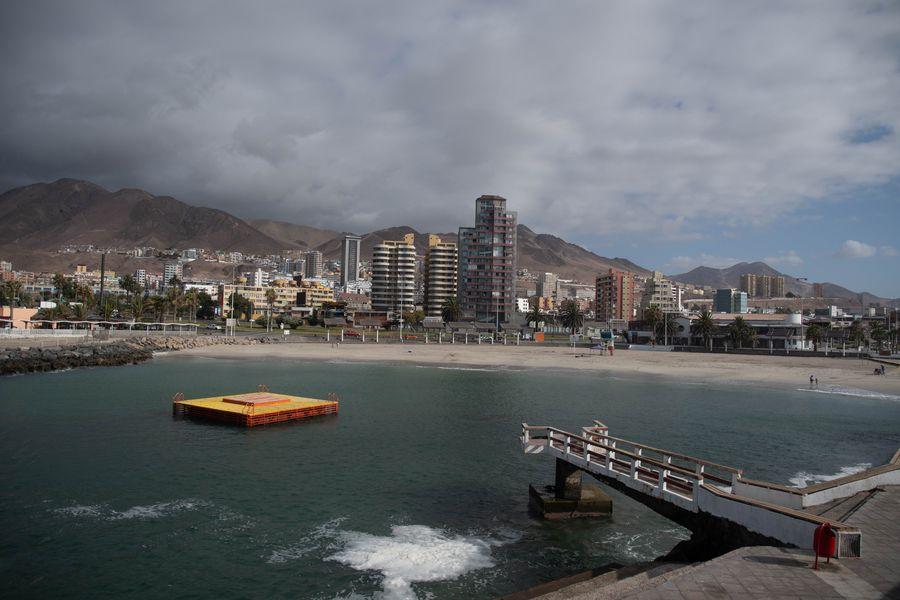 Imagen de Antofagasta en fase 1 (cuarentena). Foto referencial.