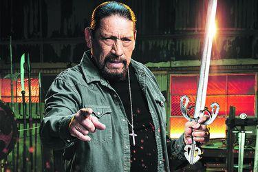 """Danny Trejo: """"Todos estos años usando armas en el cine me prepararon para este programa"""""""