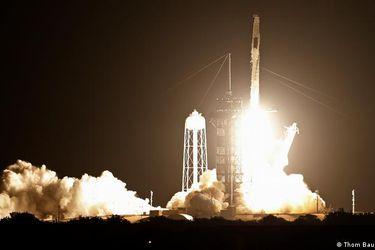 Despega la tercera misión tripulada de SpaceX hacia la Estación Espacial Internacional