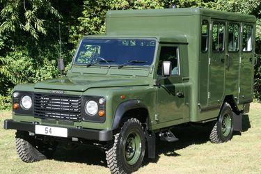Este Land Rover Defender trasladará a Felipe de Edimburgo hasta su última morada