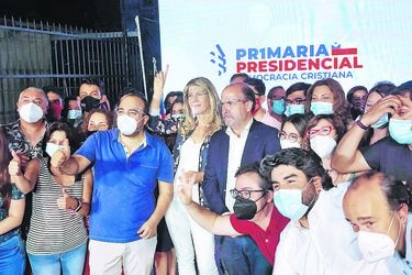 Qué se juega la DC tras definir a Rincón como su carta presidencial