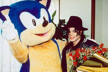Michael Jackson y Sonic