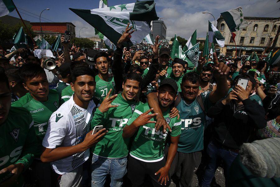 Protesta wanderina por la decision de la ANFP