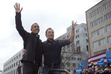 Renegados, born in the USA: llega a Chile el libro que une a Obama y Springsteen