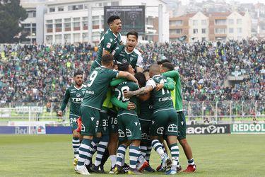 Santiago Wanderers vs Cobreloa, campeonato Primera B 2019